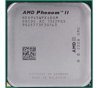 AMD Phenom II X4 945 on Amazon USA