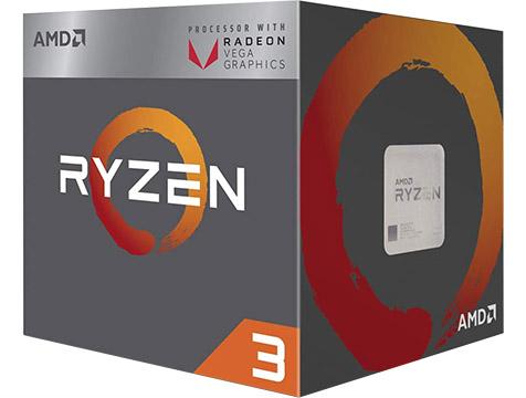 AMD Ryzen 3 2000 on Amazon USA