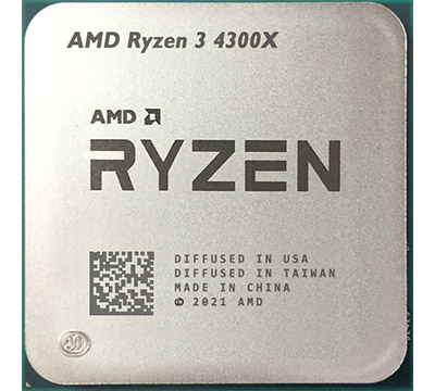 AMD Ryzen 3 4300X on Amazon USA