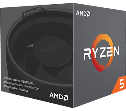 AMD Ryzen 5 1000 on Amazon USA