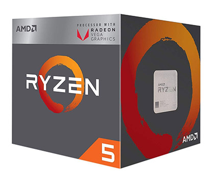 AMD Ryzen 5 2400G on eBay USA