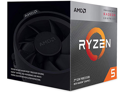 AMD Ryzen 5 3400G on eBay USA
