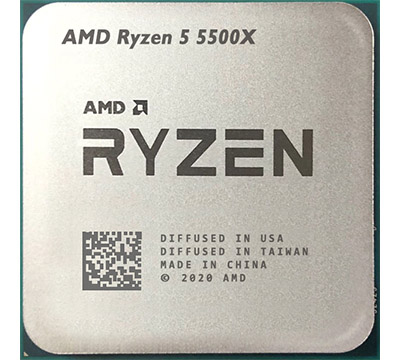 AMD Ryzen 5 5500X on Amazon USA