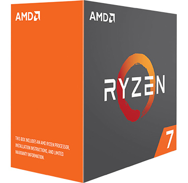 AMD Ryzen 7 1000 on Amazon USA