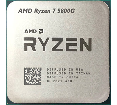 AMD Ryzen 7 5800G on Amazon USA