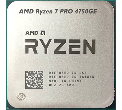 AMD Ryzen 7 PRO 4750GE on Amazon USA