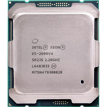 Dual Intel Xeon E5-2699 v4 on Amazon USA