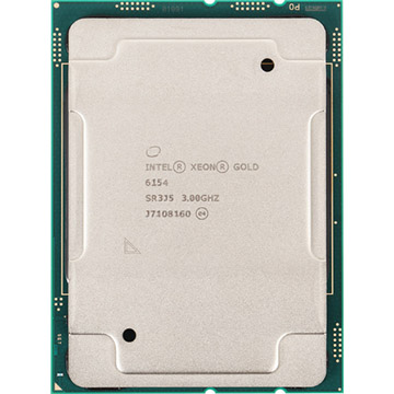 Dual Intel Xeon Gold 6154 on Amazon USA