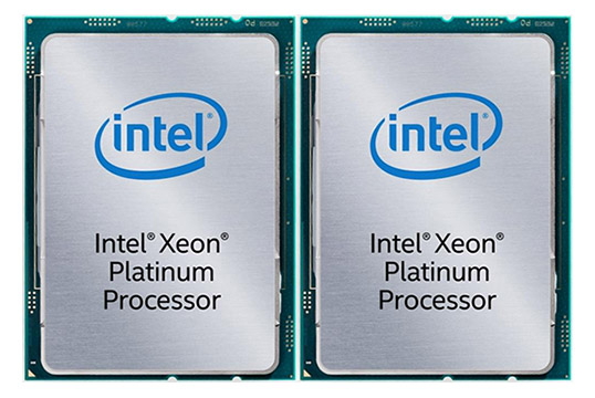 Dual Intel Xeon Platinum on Amazon USA