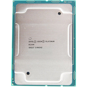 Dual Intel Xeon Platinum 8124M on eBay USA