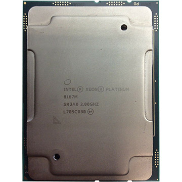 Dual Intel Xeon Platinum 8167M on Amazon USA