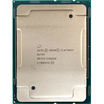 Dual Intel Xeon Platinum 8173M on Amazon USA