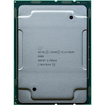 Dual Intel Xeon Platinum 8280 on Amazon USA