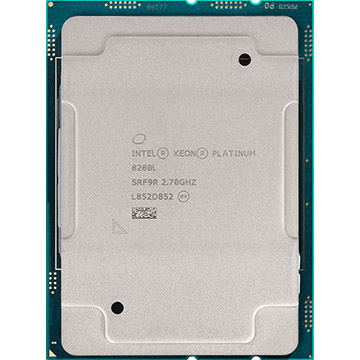 Dual Intel Xeon Platinum 8280L on Amazon USA