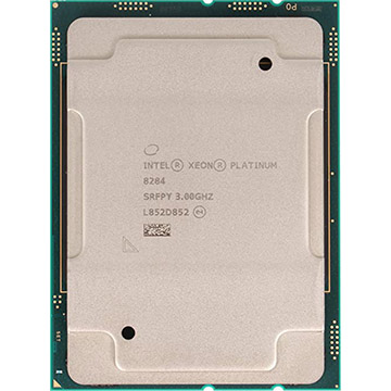 Dual Intel Xeon Platinum 8284 on Amazon USA