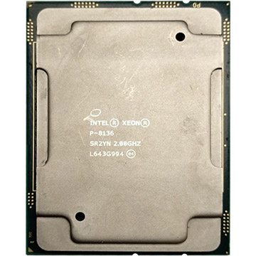 Dual Intel Xeon Platinum P-8136 on Amazon USA