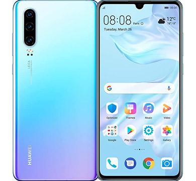 Huawei P30 on Amazon USA