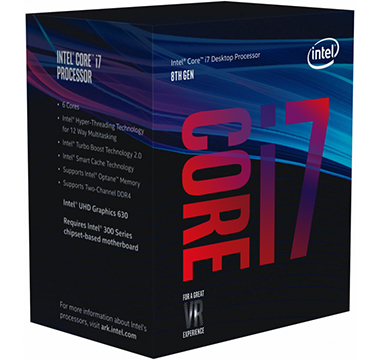 Intel Coffee Lake on Amazon USA