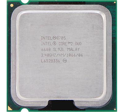 Intel Core 2 Duo E6600 on Amazon USA