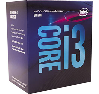 Intel Core i3-8000 on Amazon USA