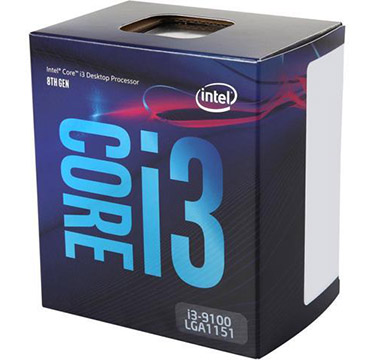 Intel Core i3-9100 on Amazon USA