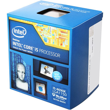 Intel Core i5-4690K on Amazon USA
