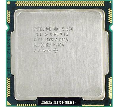 Intel Core i5-650 on Amazon USA