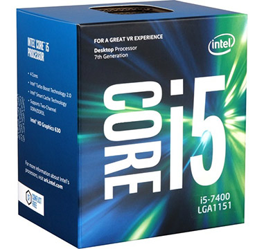 Intel Core i5-7400 on Amazon USA
