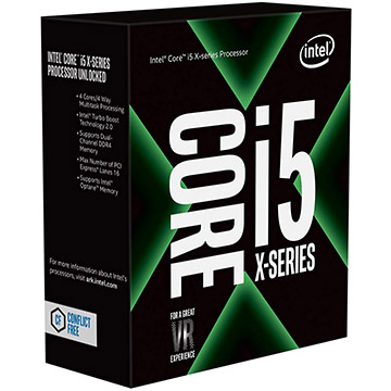 Intel Core i5-7640X on Amazon USA