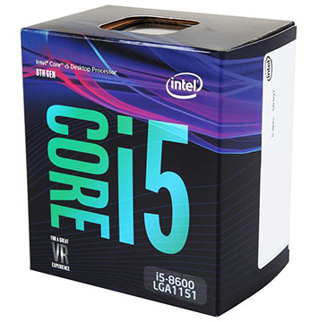 Intel Core i5-8600 on eBay USA
