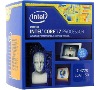 Intel Core i7-4770 on Amazon USA
