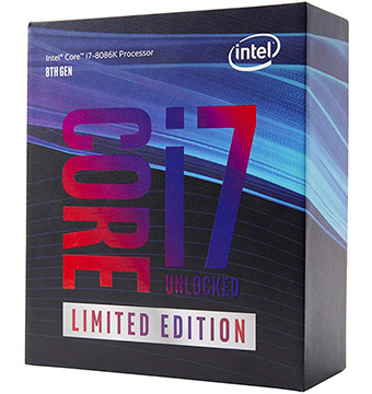 Intel Core i7-8086K on Amazon USA