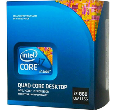 Intel Core i7-860 on Amazon USA