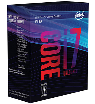 Intel Core i7-8700K on Amazon USA
