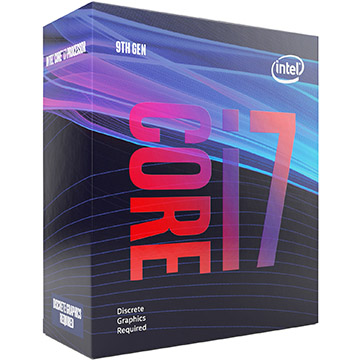 Intel Core i7-9000 on Amazon USA