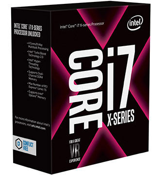 Intel Core i7-9800X on Amazon USA