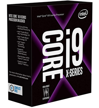 Intel Core i9-9820X on Amazon USA