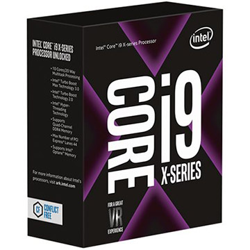 Intel Core i9 on Amazon USA