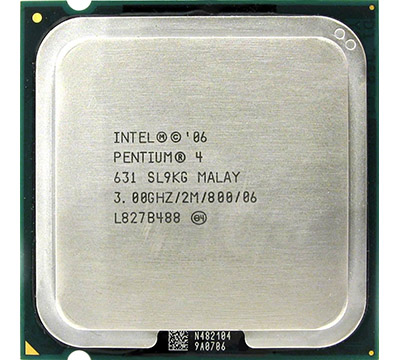 Intel Pentium 4 631 on Amazon USA