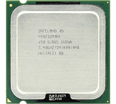 Intel Pentium 4 650 on Amazon USA