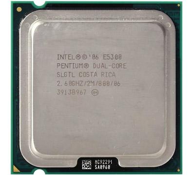 Intel Pentium E5300 on Amazon USA