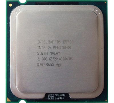Intel Pentium E5700 on Amazon USA