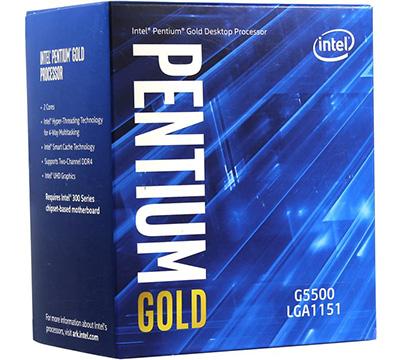 Intel Pentium Gold G5500 on Amazon USA