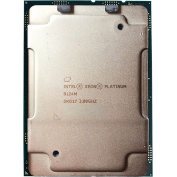 Intel Xeon Platinum 8124M on Amazon USA