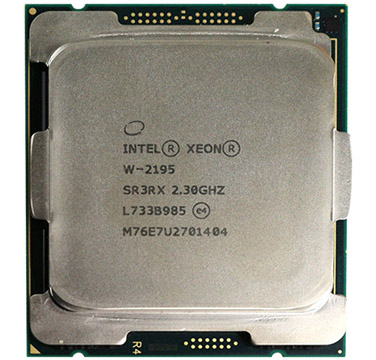 Intel Xeon W-2195 on Amazon USA