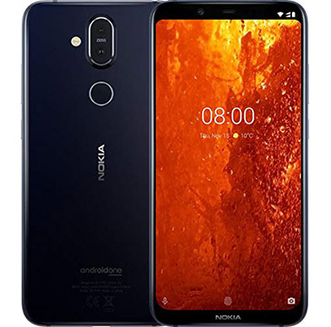 Nokia 8.1 on Amazon USA