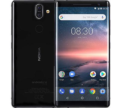 Nokia 8 Sirocco on Amazon USA