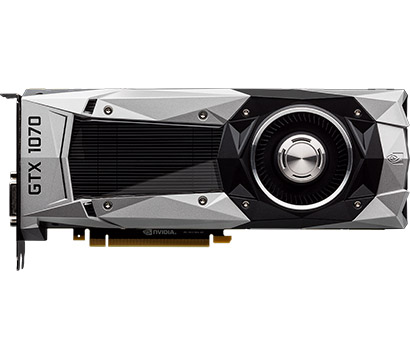 Nvidia GeForce GTX 1070 on Amazon USA