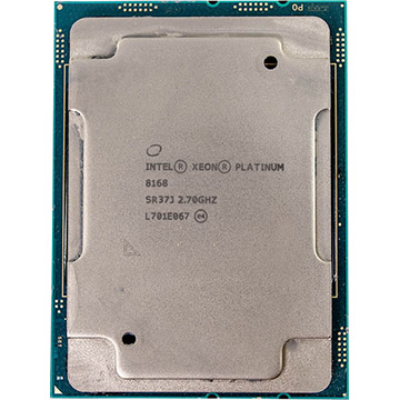 Octa Intel Xeon Platinum 8168 on Amazon USA
