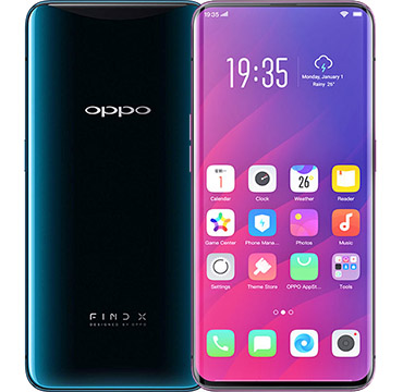 Oppo Find X on Amazon USA
